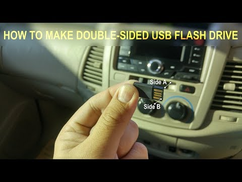 [DIY] How to make Double-sided USB Flash Drive! Like a Cassette Tape!