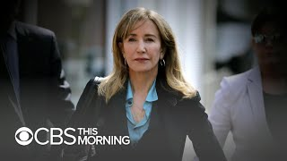 Felicity Huffman to be sentenced in college admissions scandal