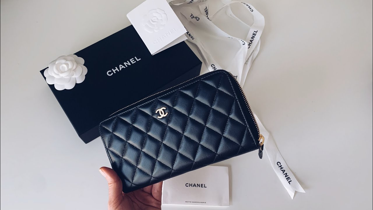 Chanel Zip Around Wallet Lambskin Leather Review Chanel Wallet Review Youtube We have the up to date chanel wallet price guide of 2020. chanel zip around wallet lambskin leather review chanel wallet review