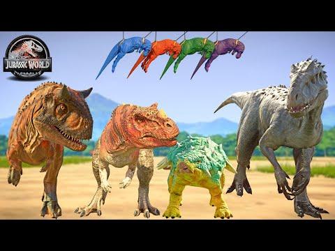 Camp Cretaceous Dinosaurs