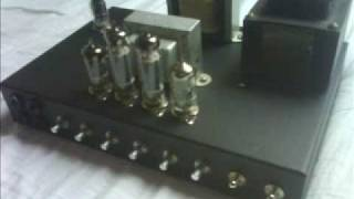 Guitar tube amp 2x EL84 15W, homebuilt