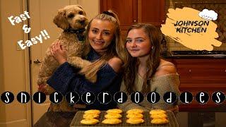 BEST Snickerdoodle Recipe  How To Bake Tutorial  Johnson Kitchen