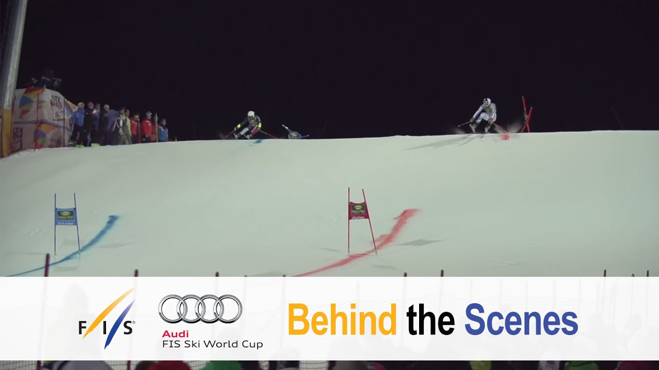 Lots of fun and excitement around the new parallel giant slalom - fis alpine