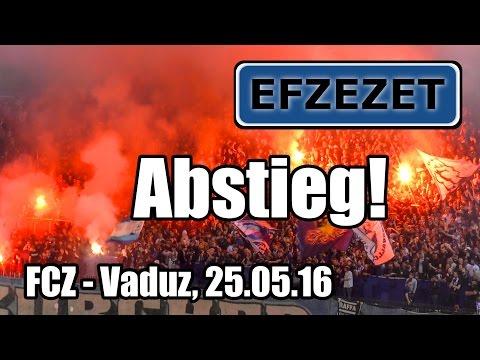 FCZ - Vaduz, Abstieg in die Challenge League!!
