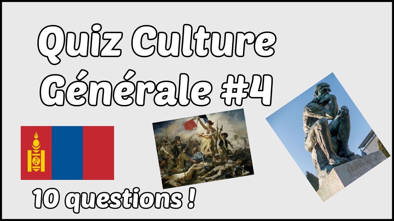 1000 idées de culture générale youtube
