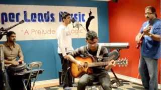 Varanam Aayiram - Nenjukkul Peidhidum - Cover by Suveathan - unplugged style