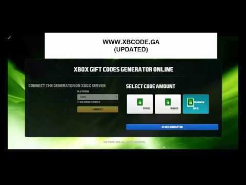 Xbox live code generator online free