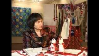 Марийская вышивальщица Надежда Маркина