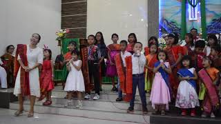 Anak Sekolah Mingggu HKBP Efrata Martubung