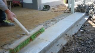 видео Как сделать гранитный бордюр своими руками правильно