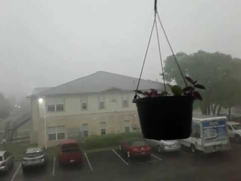 April 2, 2017 Cedar Park, Texas. Extreme and imminent danger, tornado warning.
