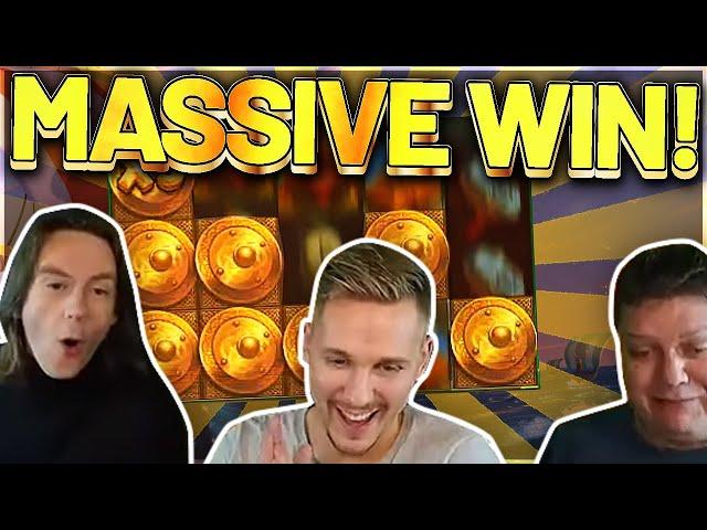 MASSIVE WIN! Viking Clash Big win - HUGE WIN  on Casino Games from Casinodaddy LIVE STREAM