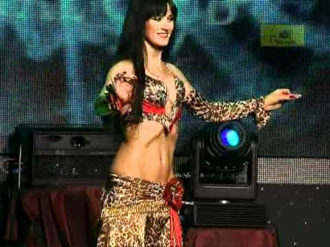 "1st place in competition ""Queen of the Pyramid"" 2010. Bellydancer Dovile from Lithuania (Kaunas)"