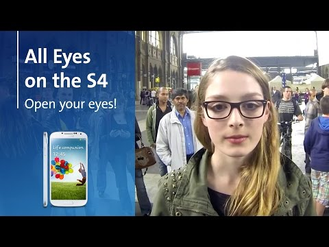 Can you stare at the Galaxy S4 for an hour? (video)