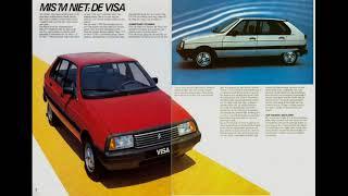 Video Tributo Citroen Visa 1978 - 1988