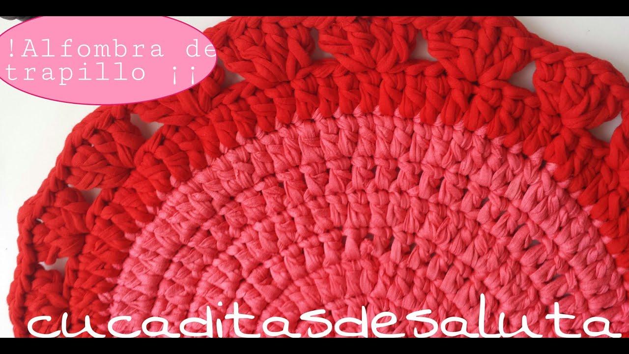 Alfombra de trapillo tutorial carpet easy youtube - Tutorial alfombra trapillo ...