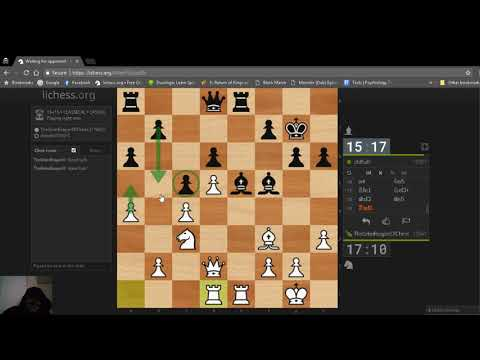 Some Tougher Competition, On lichess.org