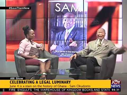 Celebrating a Legal Luminary - AM Talk on JoyNews (5-6-17)
