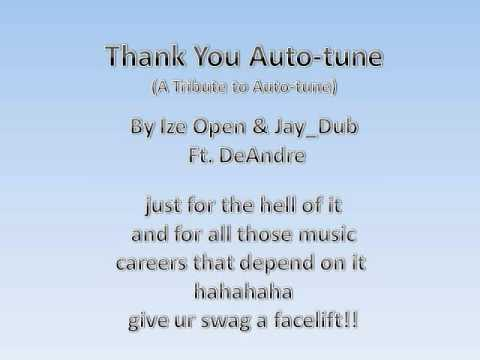 Thank You Auto-tune