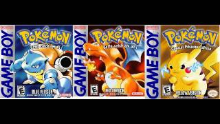 Pokémon Red / Blue / Yellow (GameBoy) - Opening Title Theme - 10 Hour Extended Music