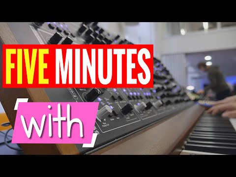 FIVE MINUTES WITH - The Schmidt Synthesizer