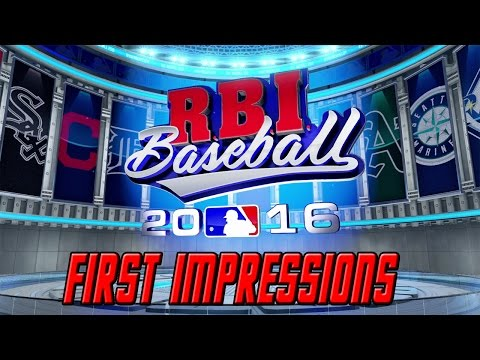 RBI Baseball 16 Gameplay: First Impressions | Cubs vs. White Sox | XBOX ONE
