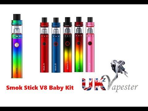 Smok Stick V8 Baby Kit Review Youtube