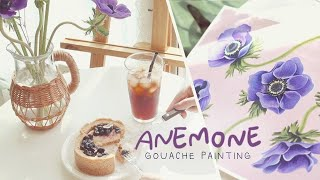 Art Vlog ] Gouache Painting Tu…