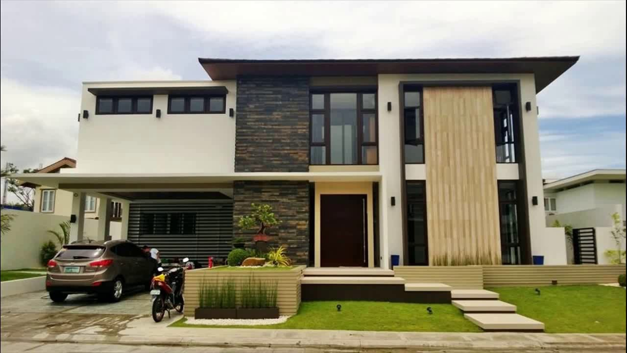 15 amazing modern asian exterior style that will take your for Colori esterni ville moderne