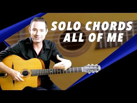 'All Of Me' - Soloing With Chords - Gypsy Jazz Guitar Secrets