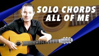 all of me soloing with chords gypsy jazz guitar secrets