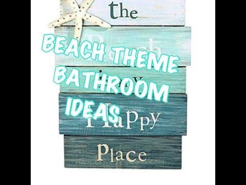 Beach Theme Bathroom   YouTube