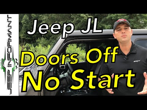 No Start Jeep JL ⚠️ Key Fob Not Detected with Door Off