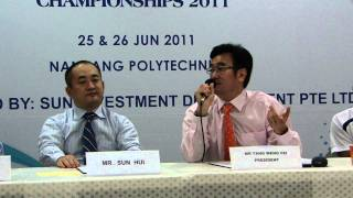 Mr. Tang Weng Fei highlights Zaki Sapari - 1st Singapore U23 / Open T&F C