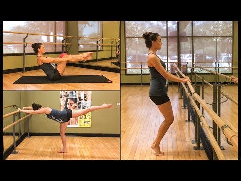 TOTAL BODY BARRE WORKOUT - firm & tone