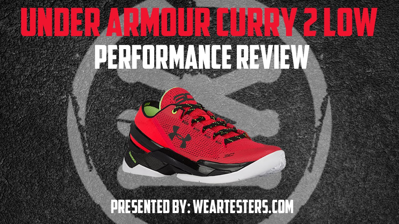 watch 25e4b 7b821 Under Armour Curry 2 Low - Performance Review - YouTube