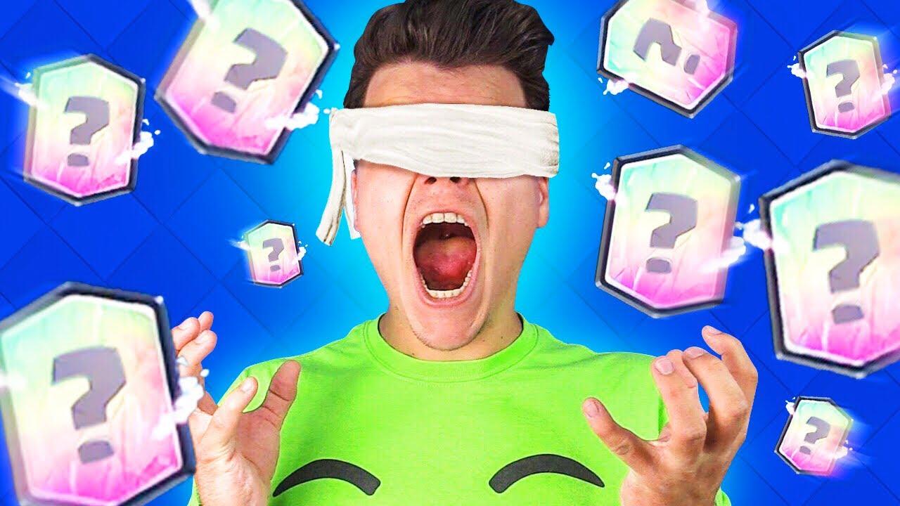 ULTIMATE BLINDFOLD DECK CHALLENGE! (Clash Royale)