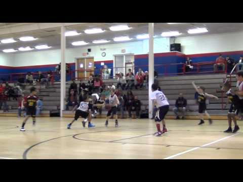 "Sam basketball 2014-2-15 league championship game - last 36 seconds w buzzer ""3"""