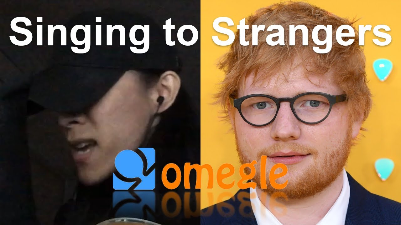 Singing to Strangers on Omegle - Bad Habits, Perfect by Ed Sheeran Reactions (Acoustic Cover)