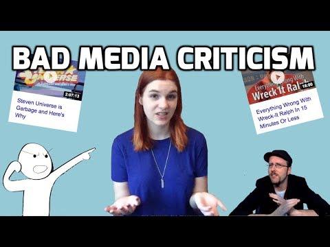 Bad Media Criticism