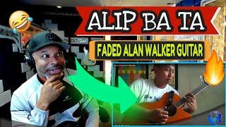 Download Alip Ba Ta Faded Alan Walker gitar (Fingerstyle Guitar) - Producer Reaction