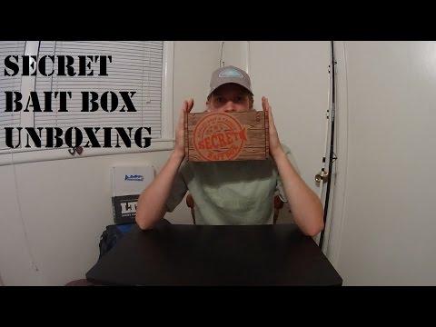 Secret Bait Box Unboxing