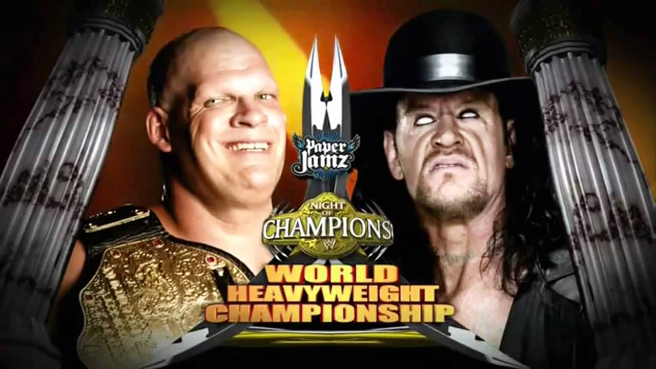 Wwe night of champions 2010 kane vs the undertaker match card hd youtube - Night of champions 2010 match card ...