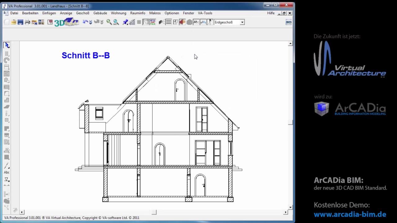 projekte erzeugen von 2d 3d schnitten im va. Black Bedroom Furniture Sets. Home Design Ideas