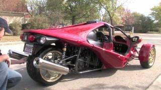 2010 Campagna T-Rex 14RR--D&M Motorsports Video Test Drive Review 2012 Chris Moran