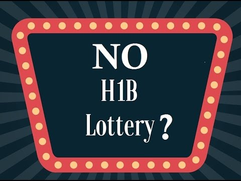 No H1B visa lottery for 2018 FY?