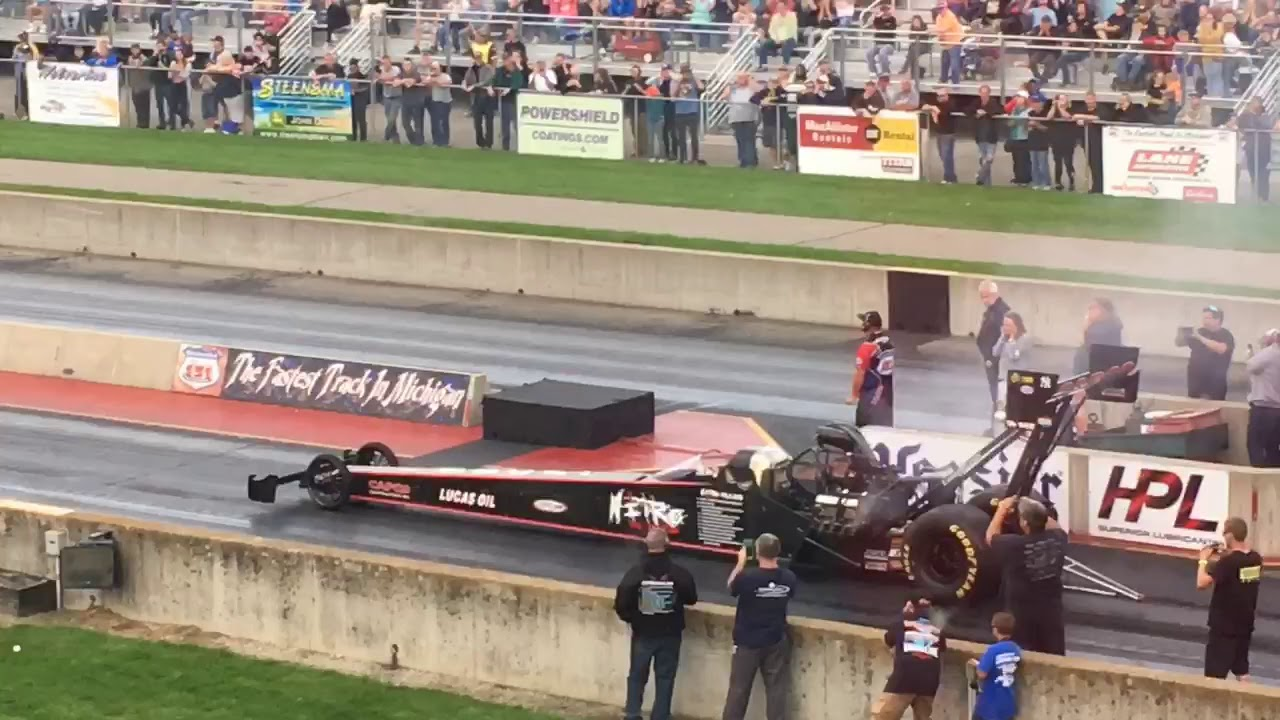 Watch: Dom Lagana's Top Fuel Dragster engine blows