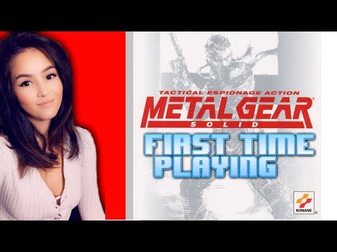Metal Gear Solid 1 - First Time Playing