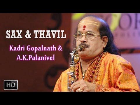 Sax & Thavil - Classical Instrumental - Western Notes - Kadri Gopalnath & A.Kvel