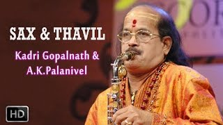 Sax & Thavil - Classical Instrumental - Western Notes - Kadri Gopalnath & A.K.Palanivel